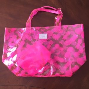 Victoria's Secret Pink Pineapple Beach Bag